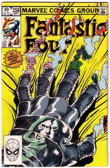 Fantastic Four #258 Marvel Comics VF