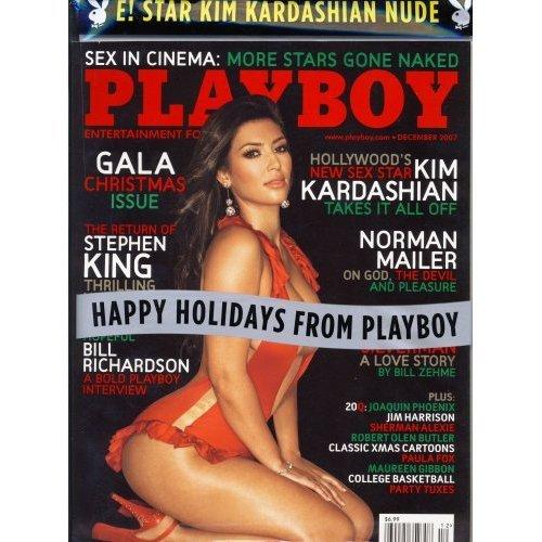PLAYBOY MAG *NEW/RARE* December 2007 Kim Kardashian on Cover