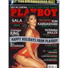 PLAYBOY MAG *NEW/RARE* December 2007 Kim Kardashian on Cover