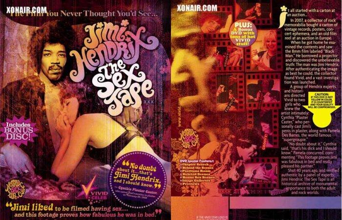Jimi Hendrix : The Sex Tape / Vivid *NEW* FREE SHIPPING