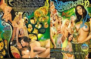 Where The Boys Aren't Vol. 19 / Vivid Lesbian *NEW* FREE SHIPPING