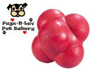 Kong LARGE Bounzer Ball Solid Rubber Chew Toy for Dogs