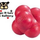 Kong SMALL Bounzer Ball Solid Rubber Chew Toy for Dogs