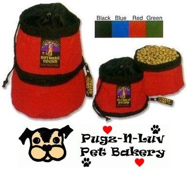 Outward Hound Portable Pet Food 'N Water Bowl Dish