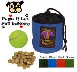 Outward Hound Treat 'n Ball Bag for Dog Obedience Agility