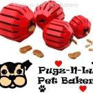 Kong SMALL Stuff-A-Ball Rubber Chew Dog Toy Treats