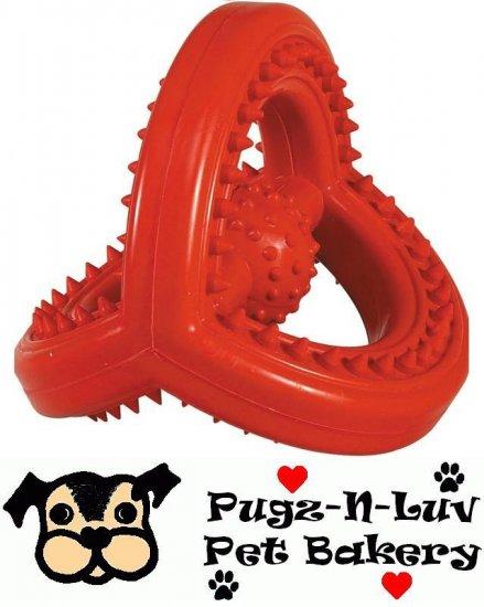 Zanies Hard Rubber Space Station Dog Chew Toy Dental