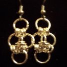 Cute Little Chain Maille Earrings