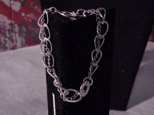 Beautiful Silver Plated Chain Bracelet