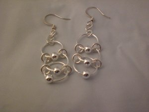 Chainmaille Ladder Earrings