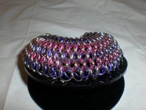 Dragon Scale Chainmaille Bracelet. GORGEGOUS