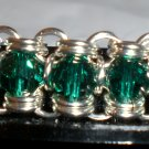 Channel Bracelet, Green