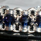 Beautiful Blue Channel Bracelet