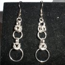 Interrupted Byzantine Chainmaille Earrings