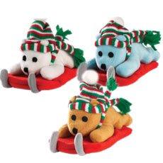 Zanies Frosty Bears