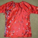 Red Butterfly Childrens Kimono dress