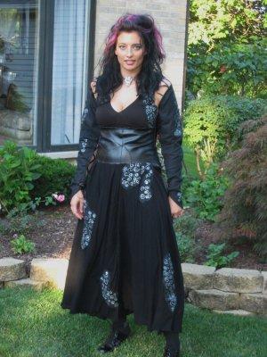 Bellatrix Costume with accessories