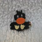 Charlie The Crow Barrette