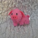 Pippy the Pig Felt Barrette