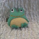 Frank the Frog Felt Barrette