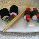 Complete Felt Sushi playtime set!