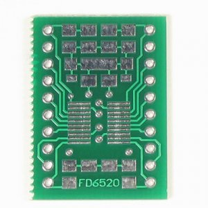 20pin SSOP/TSSOP to DIP Prototype Adapter/Converter (FD6520)