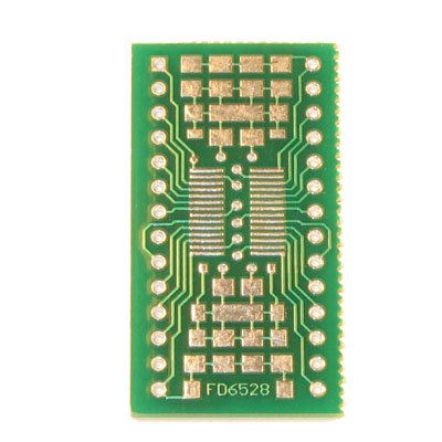 28pin SSOP/TSSOP to DIP Prototype Adapter/Converter (FD6528)
