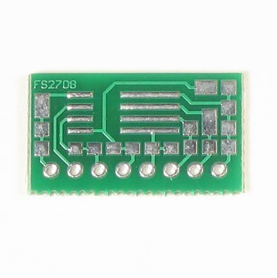 8pin SOIC to SIP Prototype Adapter/Converter (FS2708)