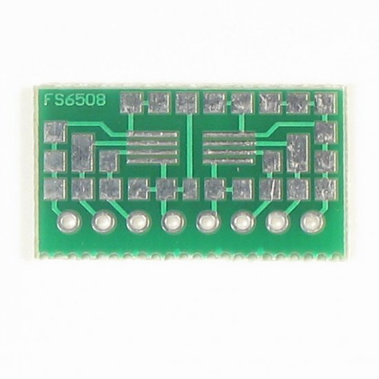8pin TSSOP to SIP Prototype Adapter/Converter (FS6508)