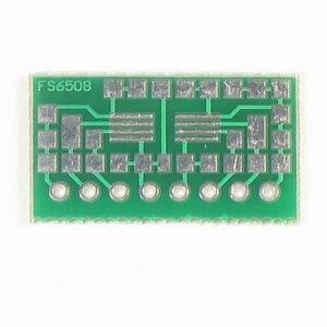 8pin TSSOP to SIP Prototype Adapter/Converter (FS6508)