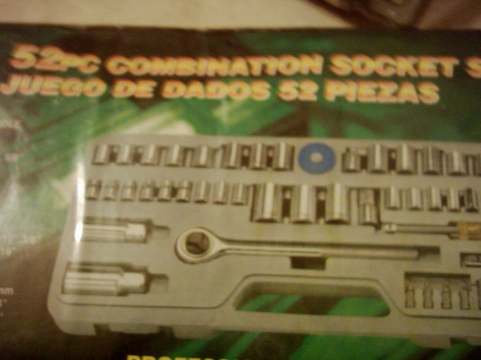 52 piece combination socket set