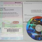 Microsoft Word 2000 OEM (Compaq Stamped)