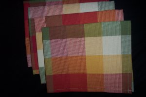 Table cloth napkin