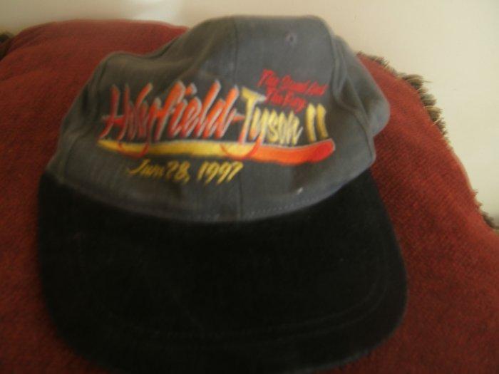 Holyfield-Tyson 11 Commemorative Cap