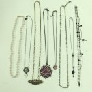 MIXED LOT C: Fashion Jewelry, Vintage, Necklaces