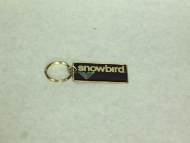 NEW - 'Snowbird'® Ski & Summer Resort Gold Tone Key Chain