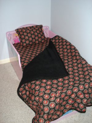 USMC 3 piece toddler bedding