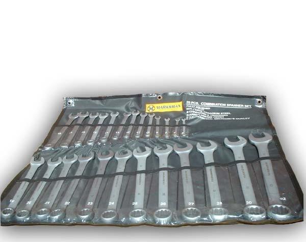 Marksman 25 Piece Professional Combination Spanner Set