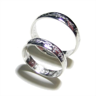 Brand 'LIYING'Fashion 925 Sterling Silver  Lovers' Rings
