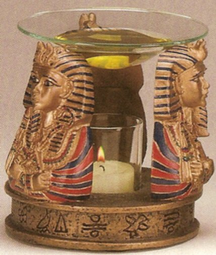 Egyptian Oil Warmer