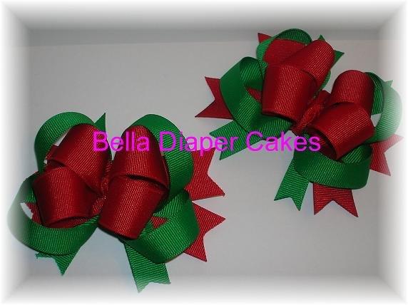 4 Layer Christmas Bow
