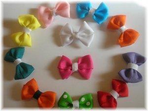 Set of 2 Baby Basic Bows