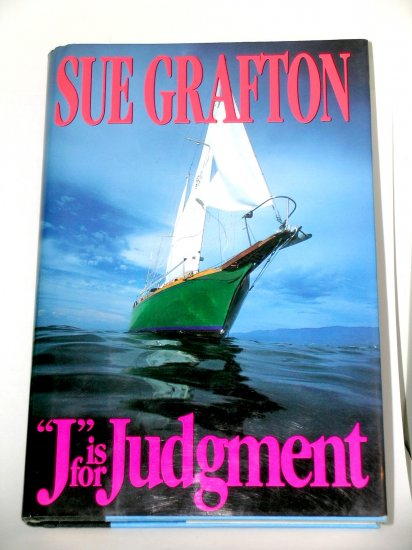 First Edition J is for Judgement by Sue Grafton