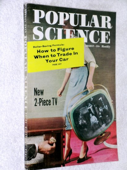 Popular Science Dec 58 smoking new tools infrared Edsel