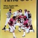 Texas A&M Aggie Football Program LA Tech Sep 26 1981 Kyle Field