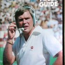 Texas A&M Aggie Football TAMU Press Guide Tom Wilson 1981