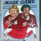 Texas A&M Aggie TAMU Football Program Baylor Bears The Saturday Aggie Game October 18, 1980