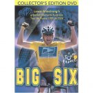 Big Six- Lance Armstrong's Greatest Moments of the Tour De France 1999-2004 Bicycling (2005) DVD