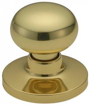 Stanley Dummy Knob Avon Series, 63-4010-035 Bright Brass UPC=033923160124