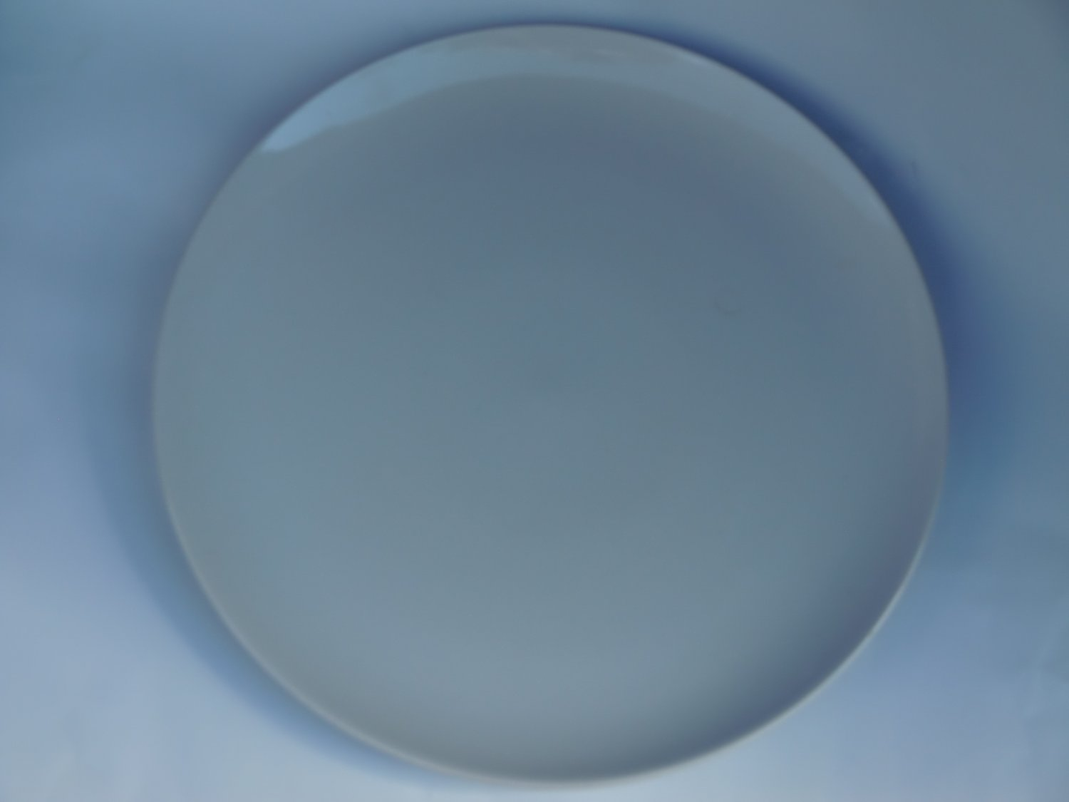 Pampered Chef Simple Additions Like New Large Round Serving Platter, White #2034